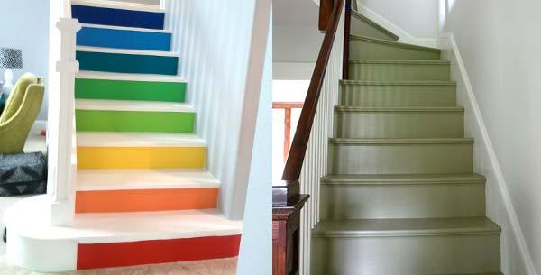 Houten Trap Ideeen : Trap schilderen? schilder met scherpe prijs voor verven!